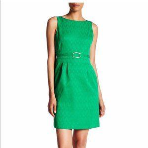 Tahari Sleeveless Jacquard Sheath Dress 8 #4732